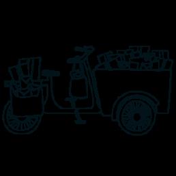 Lichtpuntjes troostgeschenken Illustratie door Marlies van Zoomeren